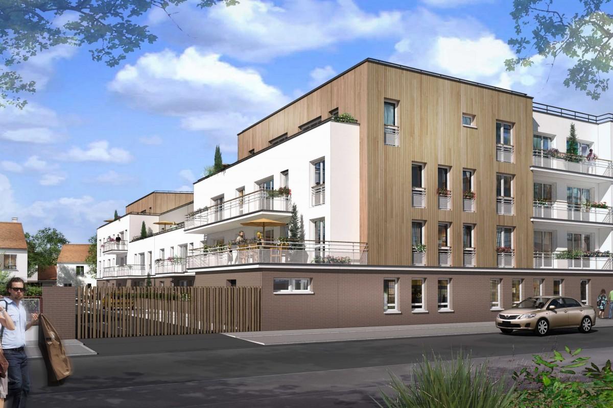 5 logements a Brou sur Chantereine par Archicrea NLG
