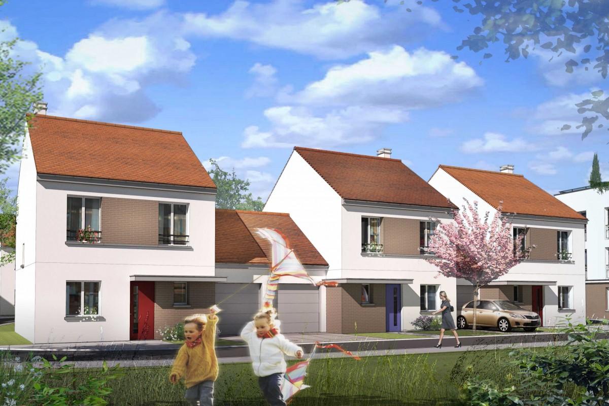 65 logements a Brou sur Chantereine par Archcrea NLg