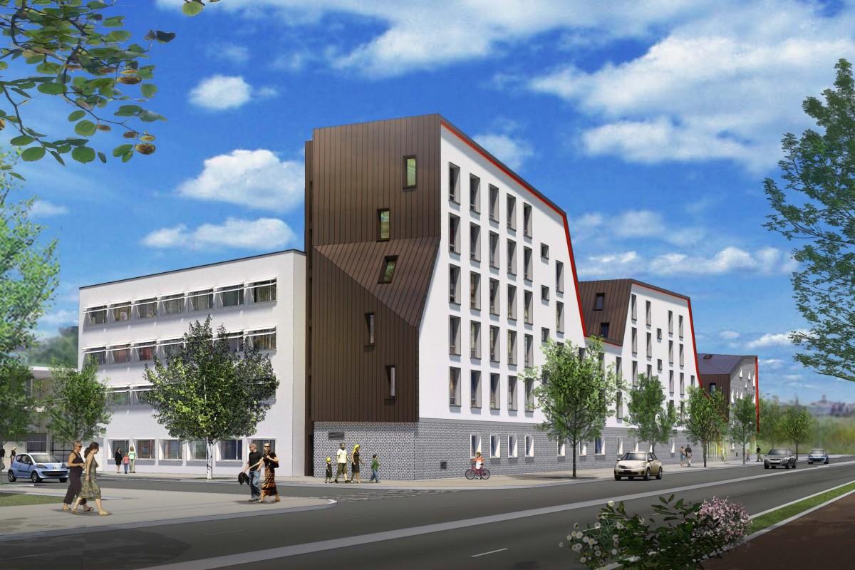 Residence pour etudiants a Pontoise par Archicrea NLG