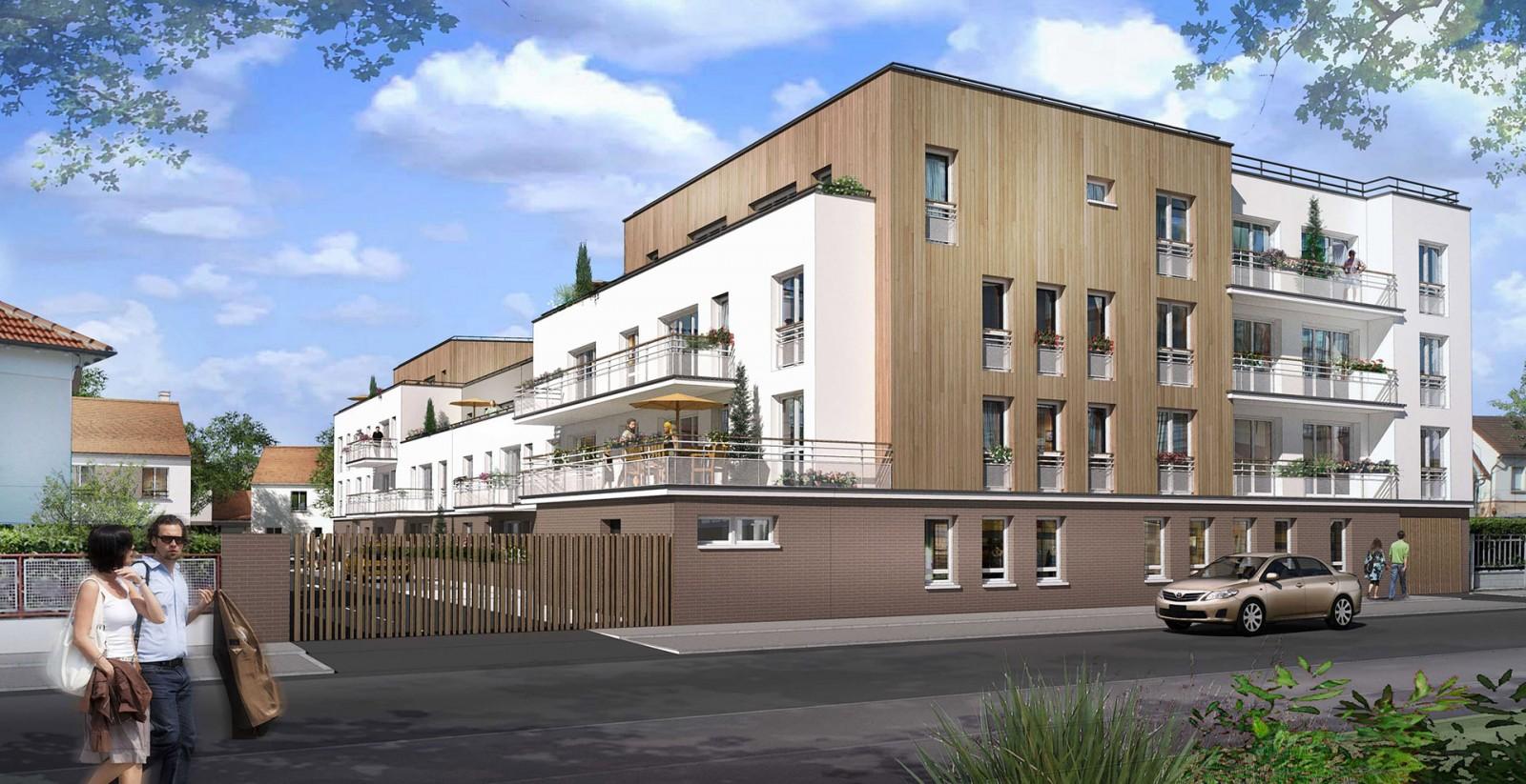 65 Logements Archicréa NLG en maisons individuelles et logements collectifs Brou sur Marne