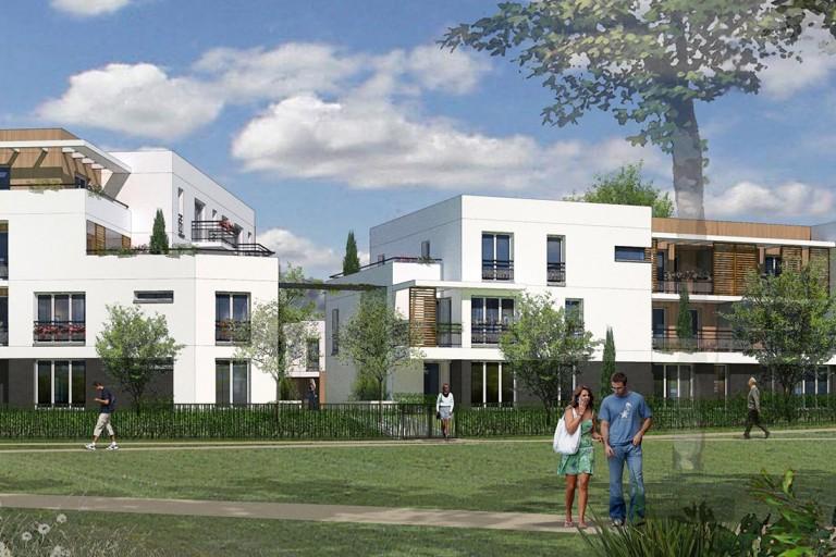46 logements par Archicréa NLG à Roissy en Brie