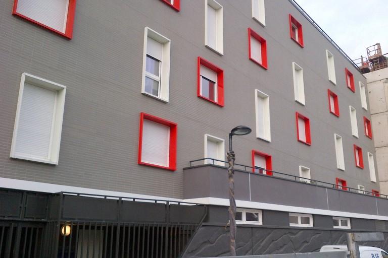 184 chambres résidence étudiants par Archicréa NLG à Aubervilliers